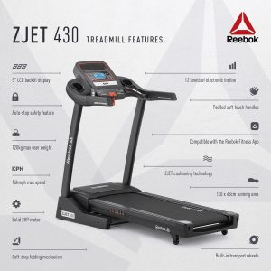 Reebok ZJet 430 + Bluetooth Treadmill : sportslifepk